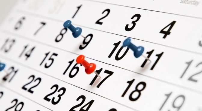 Gli eventi da monitorare questa settimana